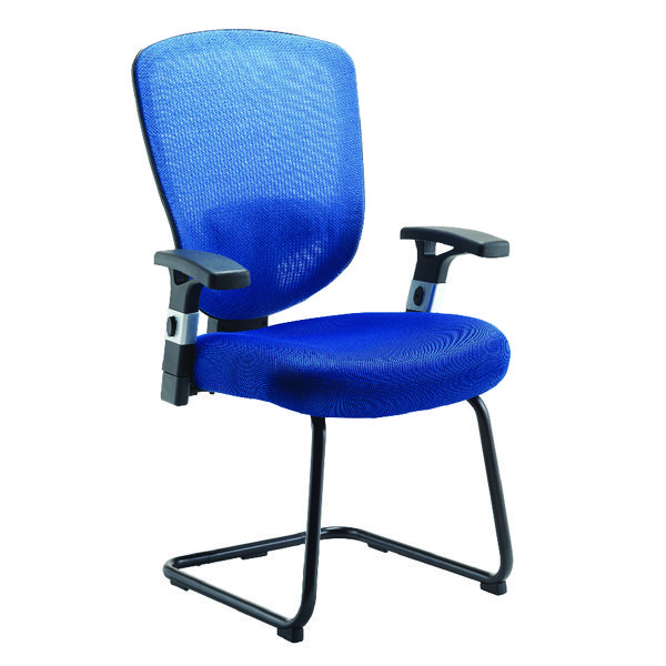 Arista Lexi Visitor Chairs Blue (Seat Dimensions: W530 x D500mm) H-8006-F