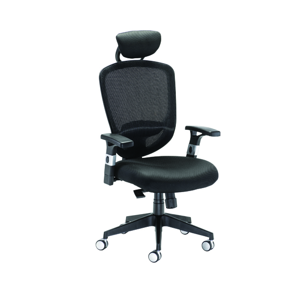 Arista Lexi High Back Chairs with Headrest H-9056-L1