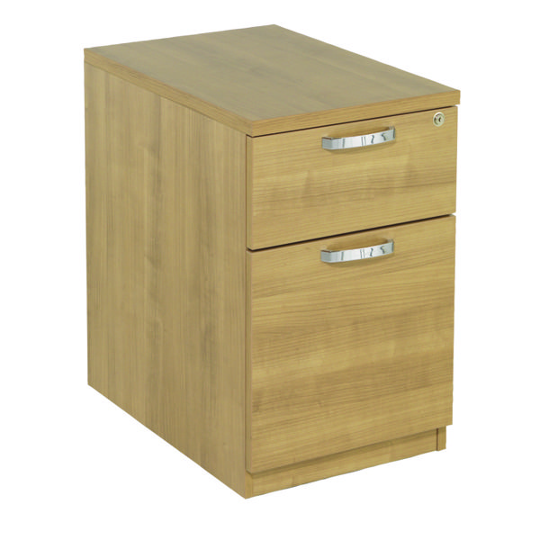 Avior Ash 2 Drawer Mobile Pedestal