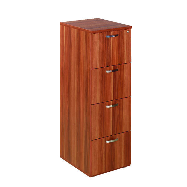 Avior Cherry 4 Drawer Filing Cabinet KF72322