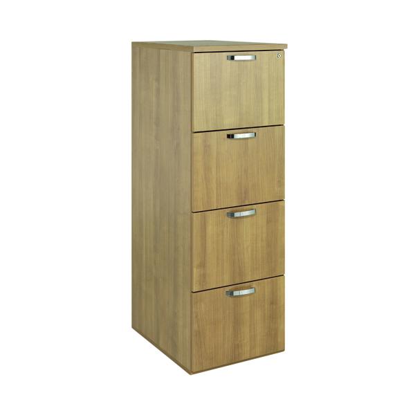 Image for Avior Ash 4 Drawer Filing Cabinet KF72323