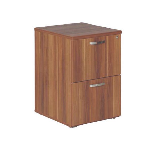 Image for Avior Cherry 2 Drawer Filing Cabinet KF72324