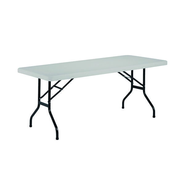 Jemini White 1520mm Folding Rectangular Table