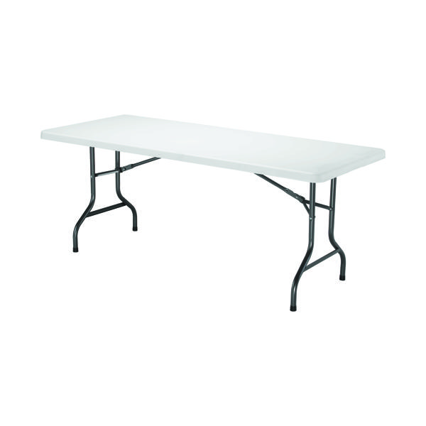 Image for Jemini White 1830mm Folding Rectangular Table KF72330