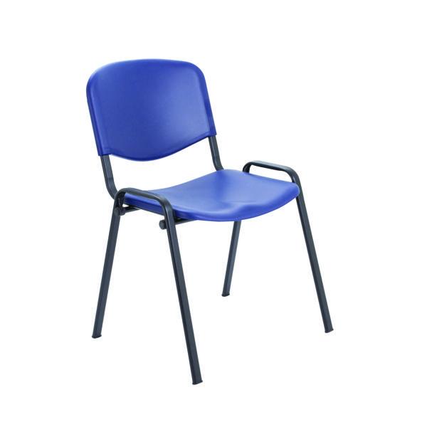 Jemini Multi Purpose Polypropylene Stacking Chair Blue