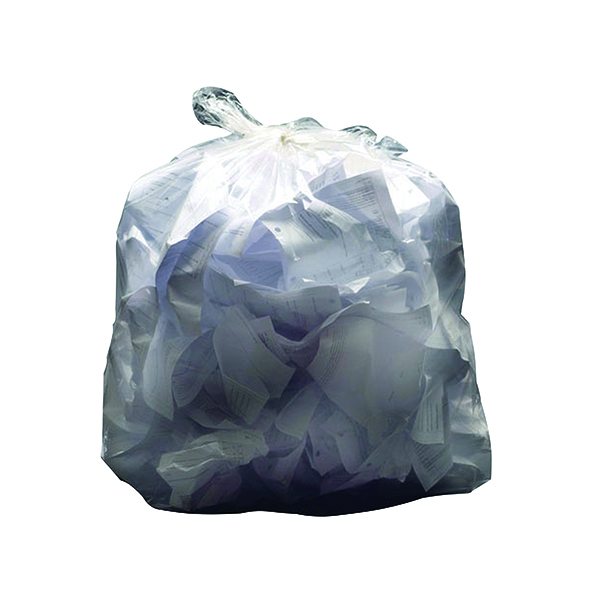 2Work Swing Bin Liner 45 Litre White (Pack of 1000)