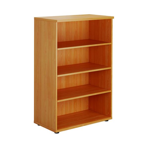 Serrion Bavarian Beech 1200mm Medium Bookcase