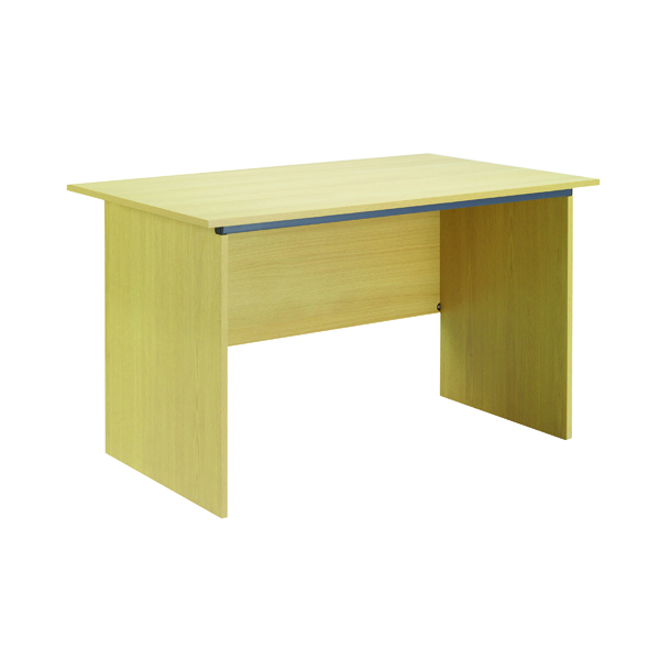 Serrion Ferrera Oak 1200mm Panel End Desk (Dimensions: W1200 x D750  x H726mm)
