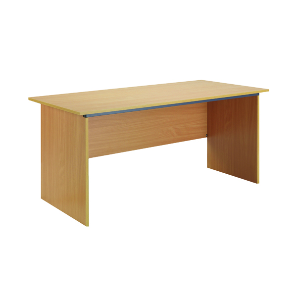 Serrion Bavarian Beech 1500mm Panel End Desk