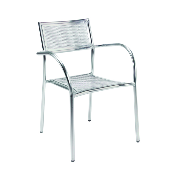 Arista Aluminium Mesh Chair