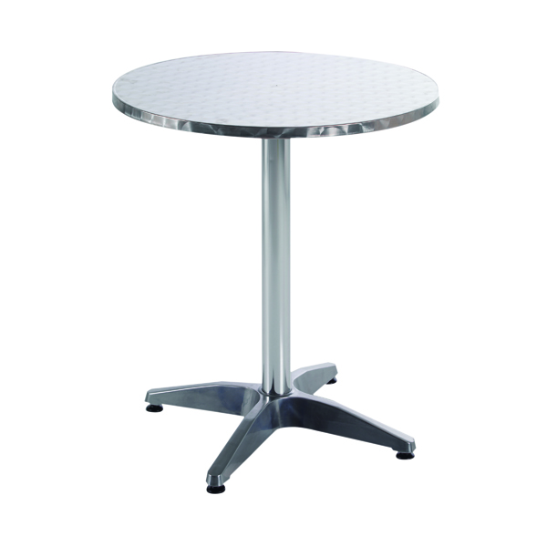 Arista Aluminium Table (W600 x D600 x H700mm)