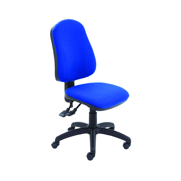 Jemini Teme Deluxe High Back Operator Chair Blue