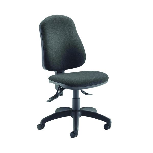 Jemini Teme Deluxe High Back Operator Chair Charcoal