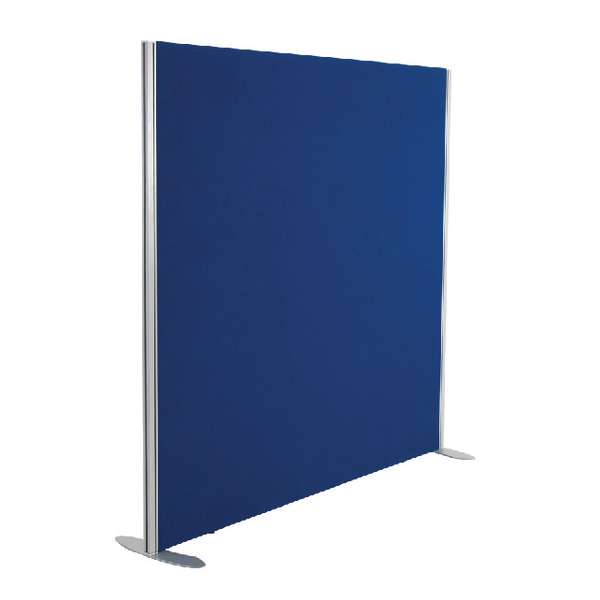 Jemini Blue 1200x1200 Floor Standing Screen Including Feet