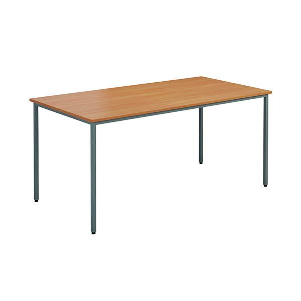 Jemini Rectangular Table 1200 x 800mm Beech OMPT1280RECBE2