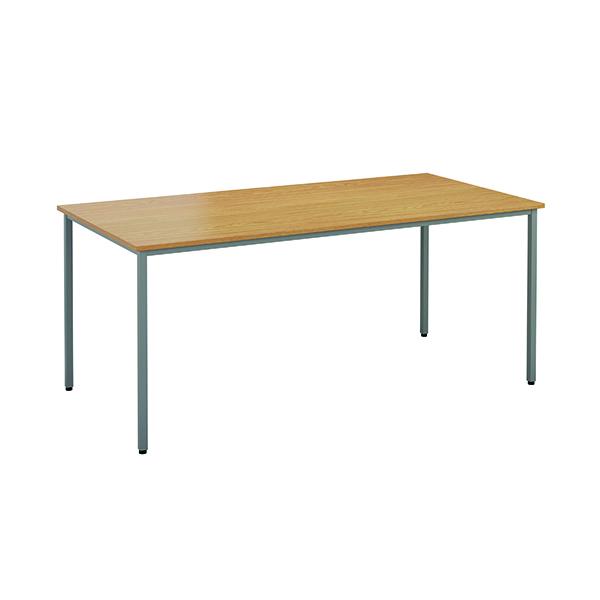 Jemini Rectangular Table 1200 x 800mm Nova Oak OMPT1280RECNO