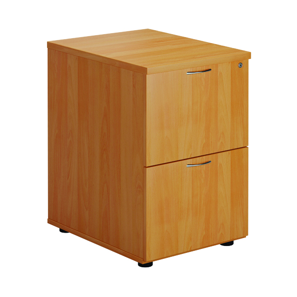 First Two Drawer Filing Cabinet Beech