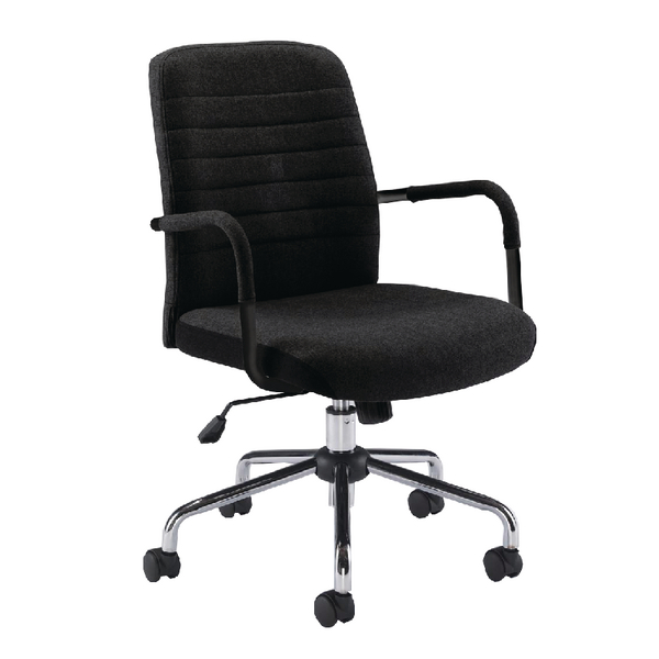 Jemini Black Rhine Soho Chair (Suitable for up to 5 Hours)