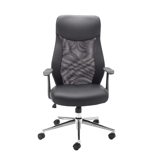 First Mesh High Back Operators Chair