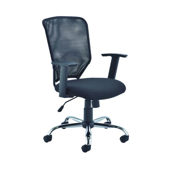 First Mesh Task Chair Black (Seat Dimensions: W500 x D480mm)