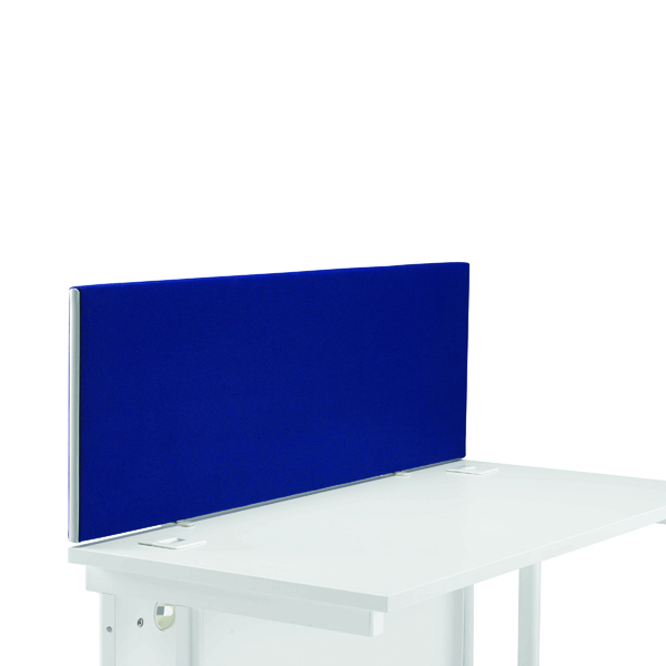 Image for First Desk Mounted Screen H400 x W1200 Special Blue KF74836
