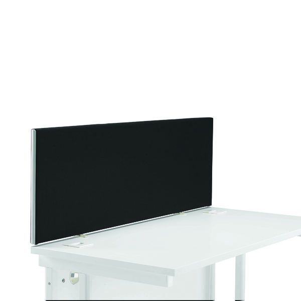 Image for First Desk Mounted Screen H400 x W1200 Special Black KF74837