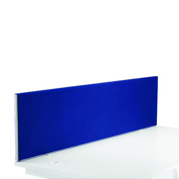 First Desk Mounted Screen H400 x W1600 Special Blue KF74840
