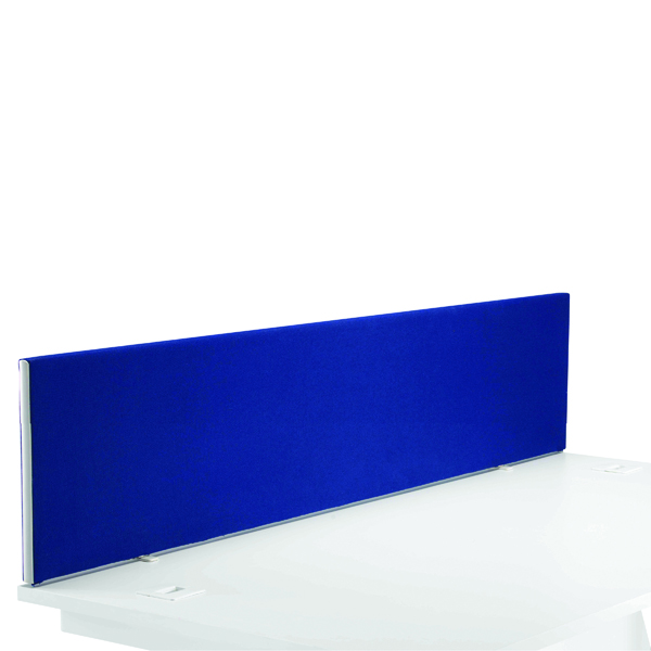 First Desk Mounted Screen H400 x W1800 Special Blue