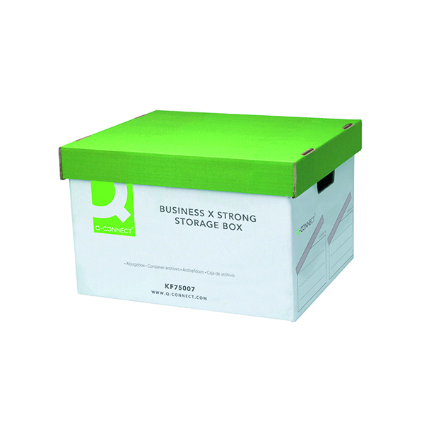 Q-Connect Business Storage Trunk Box W380xD455xH255mm (Pack of 10)
