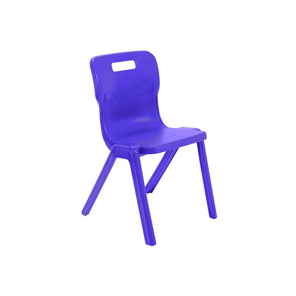 Titan One Piece Chair 460mm Purple