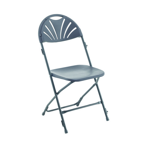 Titan Folding Chair Charcoal