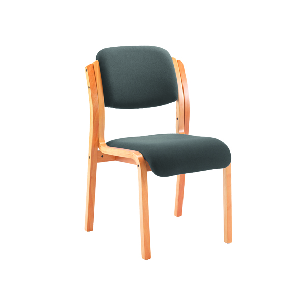 Jemini Charcoal Wood Frame Side Chair