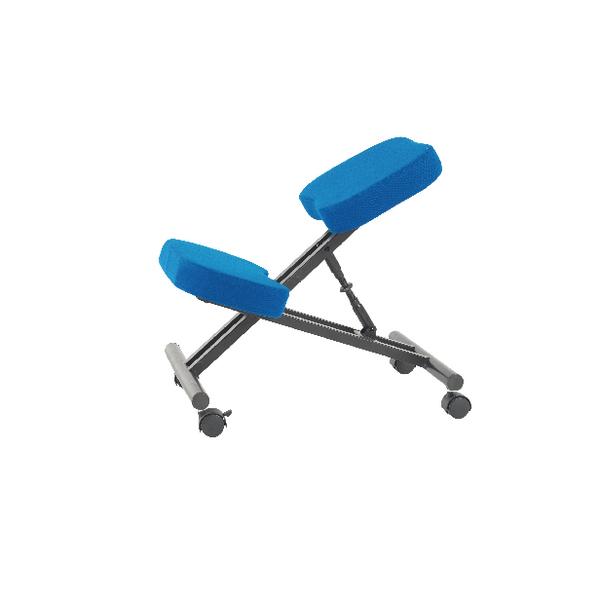 Jemini Kneeling Chair Blue (Seat Dimensions: W420 x D260mm)