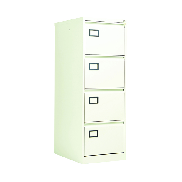 Jemini 4 Drawer Filing Cabinet White