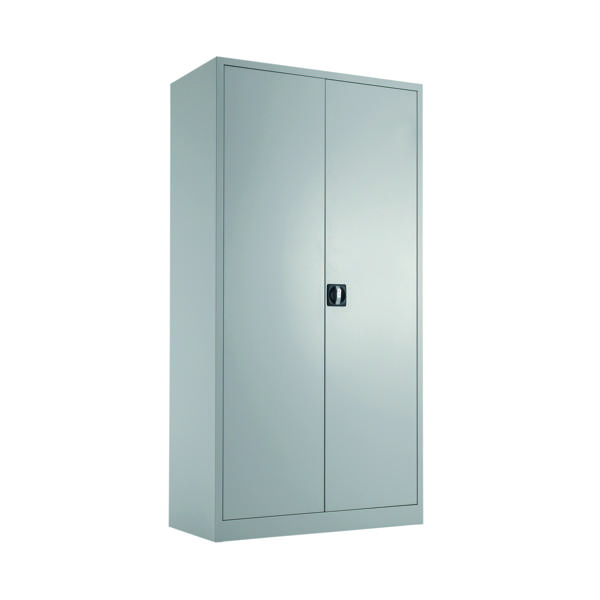 Talos Double Door Stationery Cupboard 1790 Grey