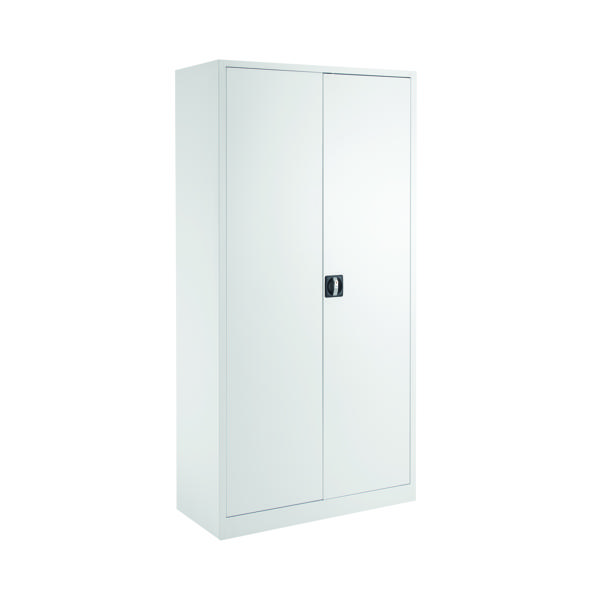 Talos Double Door Stationery Cupboard 1790 White