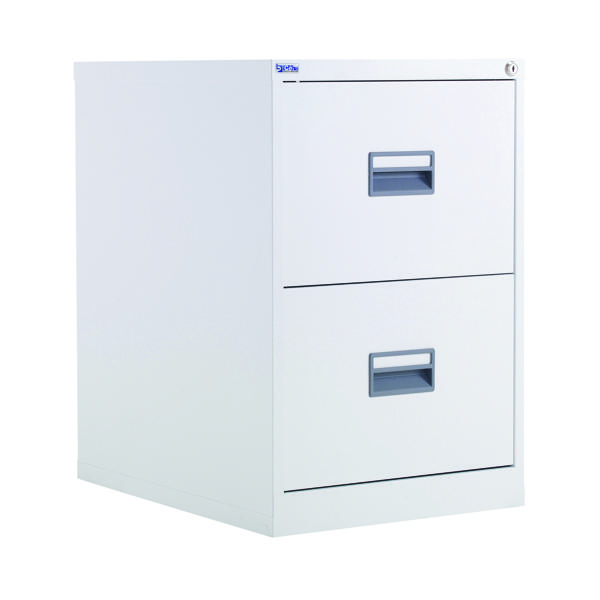 Talos 2 Drawer Filing Cabinet White KF78765