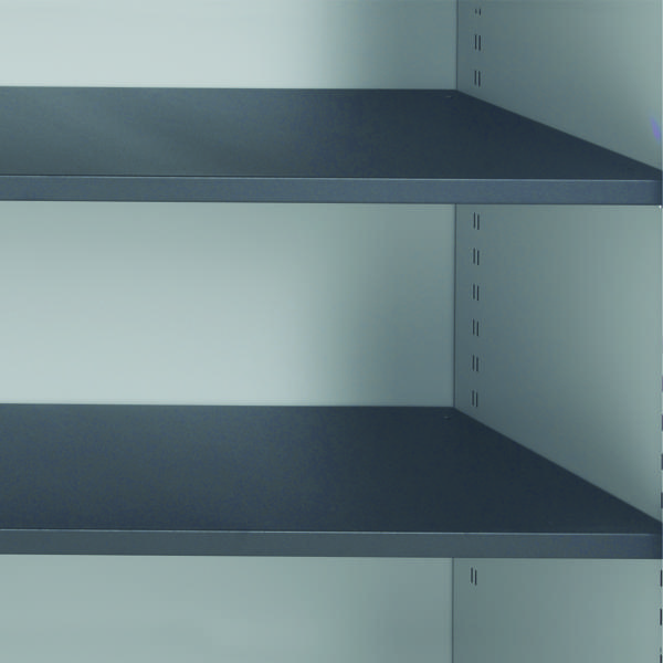 Image for Talos Tambour Black Shelf - designed for use with Talos side opening tambour cupboards - KF78776