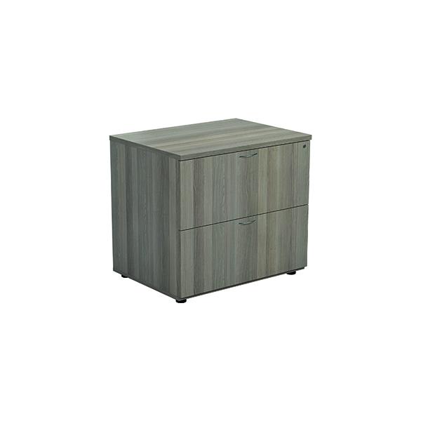 Jemini Grey Oak 2 Drawer Side Filer