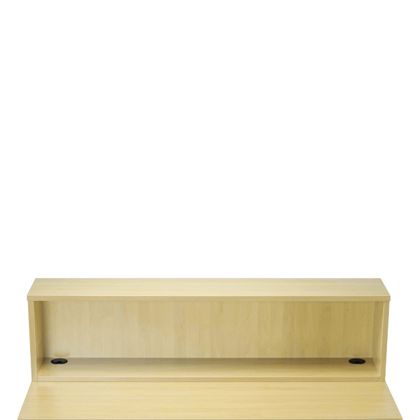 Jemini Maple D1600 Modular Straight Reception Hutch