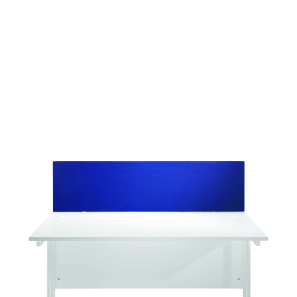 Jemini Blue 800mm Straight Desk Screen