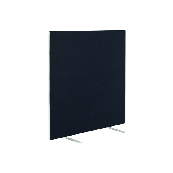 Jemini Black 1600x1600mm Floor Standing Screen