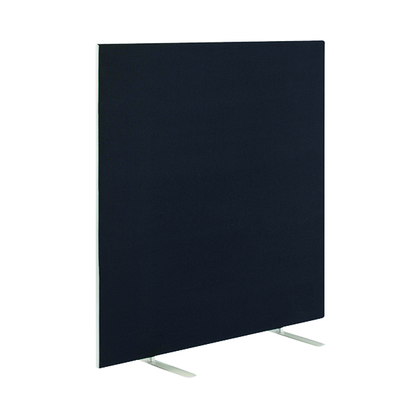 Jemini Black 1800x1600mm Floor Standing Screen