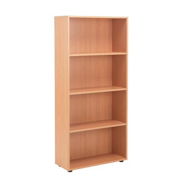 Image for Jemini 18 Beech 1620mm Open Bookcase KF79017