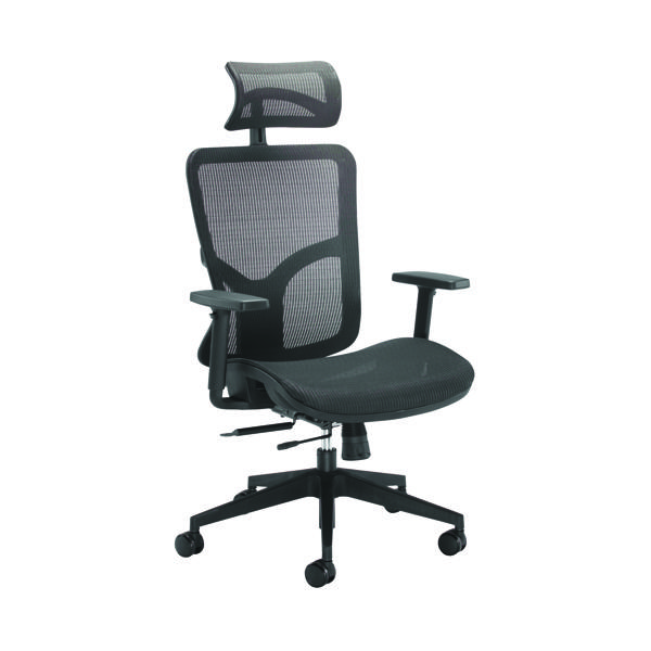 Arista Axis Mesh Task Chair Black