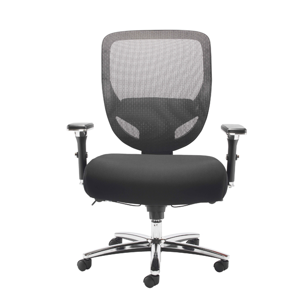 Avior Congo Big and Tall Heavy Duty Chair Black