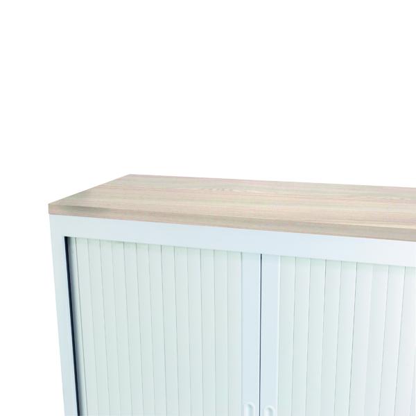 Image for Talos Cupboard Wooden Top Grey Oak W1000 x D450 x H25mm TCS-CUP-TOPGO