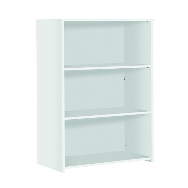 Serrion Medium Bookcase 1200mm White
