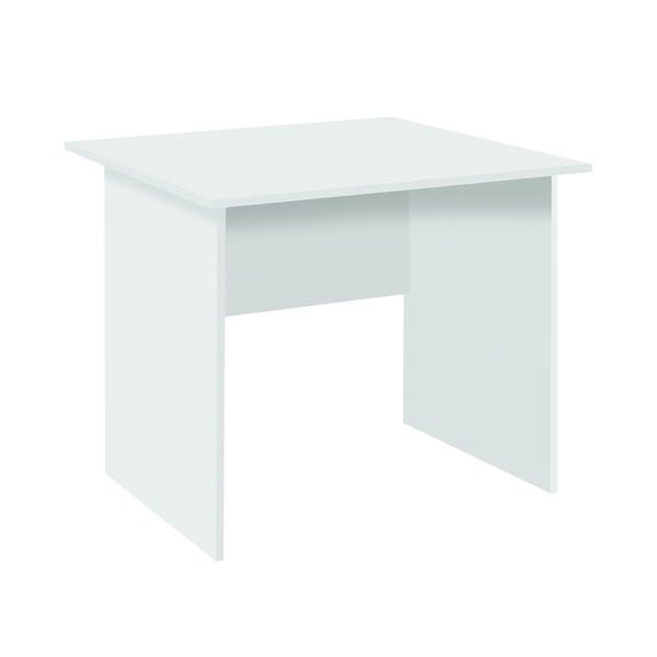 Serrion Eco 18 Rectangular Panel End Desk 1200 x 750mm White