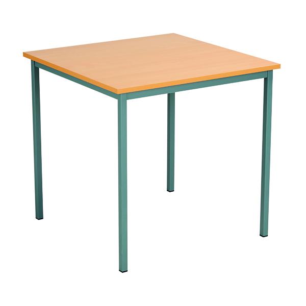 Serrion Square Table 750mm Bavarian Beech ESQUT750BE